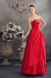 Modern Garden Strapless Sleeveless Backless Floor Length Bridal Gowns