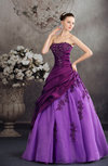 Fairytale Hall Ball Gown Sleeveless Sequin Bridal Gowns