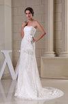 Gorgeous Hall Sheath Strapless Sleeveless Bridal Gowns
