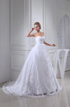 Vintage Church Ball Gown Cathedral Train Lace Bridal Gowns