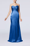 Sexy Trumpet Sweetheart Sleeveless Sweep Train Bridesmaid Dresses