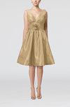 Modern A-line Sleeveless Zipper Ruching Bridesmaid Dresses