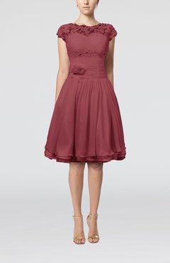 Wine Cocktail Dress