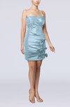 Modern Column Sweetheart Taffeta Appliques Party Dresses