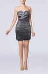 Modern Sweetheart Sleeveless Backless Mini Graduation Dresses