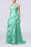 Gorgeous A-line Sweetheart Backless Taffeta Paillette Evening Dresses