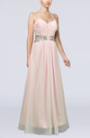 Classic Sweetheart Backless Chiffon Floor Length Bridesmaid Dresses