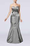 Modern Sleeveless Zipper Taffeta Floor Length Evening Dresses