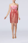 Modern Sheath Sleeveless Knee Length Flower Club Dresses