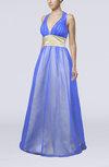 Informal Halter Sleeveless Zip up Sequin Evening Dresses