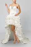 Disney Princess Hall A-line Sleeveless Backless Organza Bow Bridal Gowns