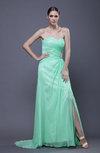 Elegant Sweetheart Sleeveless Backless Wedding Guest Dresses
