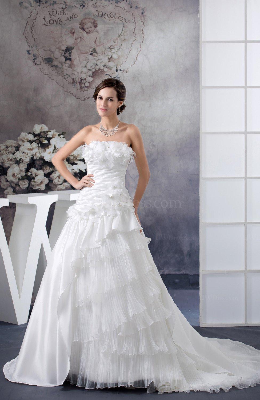 White Disney Princess Bridal Gowns Glamorous Full Figure ...