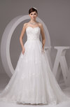 Lace Bridal Gowns Country Plus Size Formal Glamorous Strapless Low Back