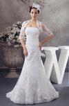 Lace Bridal Gowns Mermaid Formal Glamorous Unique Simple Plus Size