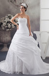 Allure Bridal Gowns Sexy Ball Gown Unique Low Back Strapless Expensive