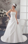 Disney Princess Bridal Gowns Spring Low Back Formal Country Fall Strapless