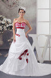 Luxury Bridal Gowns Sweetheart Formal Plus Size Unique Low Back Strapless