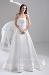Allure Bridal Gowns Inexpensive Winter Fall Formal Sleeveless Open Back