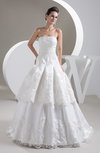 Lace Bridal Gowns Formal Cinderella Full Figure Fall Low Back Spring Summer