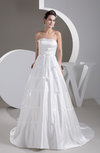 Inexpensive Bridal Gowns Country Formal Modern Low Back Summer Simple
