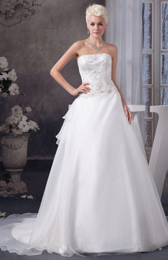 214a721e7fe0 Allure Bridal Gowns Lace Country Sleeveless Elegant Winter Strapless Summer