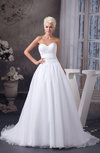 Allure Bridal Gowns Sexy Plus Size Organza Glamorous Beaded Spring