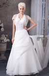 Lace Bridal Gowns Allure Plus Size Backless Glamorous Western Winter A line