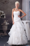 Amazing Bridal Gowns A line Spring Full Figure Classic Backless Summer
