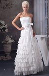 Beach Bridal Gowns Classic Spring A line Country Fall Strapless Open Back