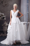 Allure Bridal Gowns Inexpensive Tea Length Fall Country Full Figure Spring