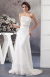 Allure Bridal Gowns Traditional Strapless Plus Size Glamorous Beaded