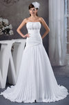 Allure Bridal Gowns Inexpensive Winter Strapless Plus Size Sleeveless