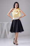 Short Bridesmaid Dress Affordable Sash Allure Destination Trendy for Less