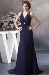 Long Mother of the Bride Dress Inexpensive Spring Rhinestone Semi Formal