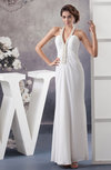 Allure Bridal Gowns Inexpensive Sheath Spring Destination Backless Low Back