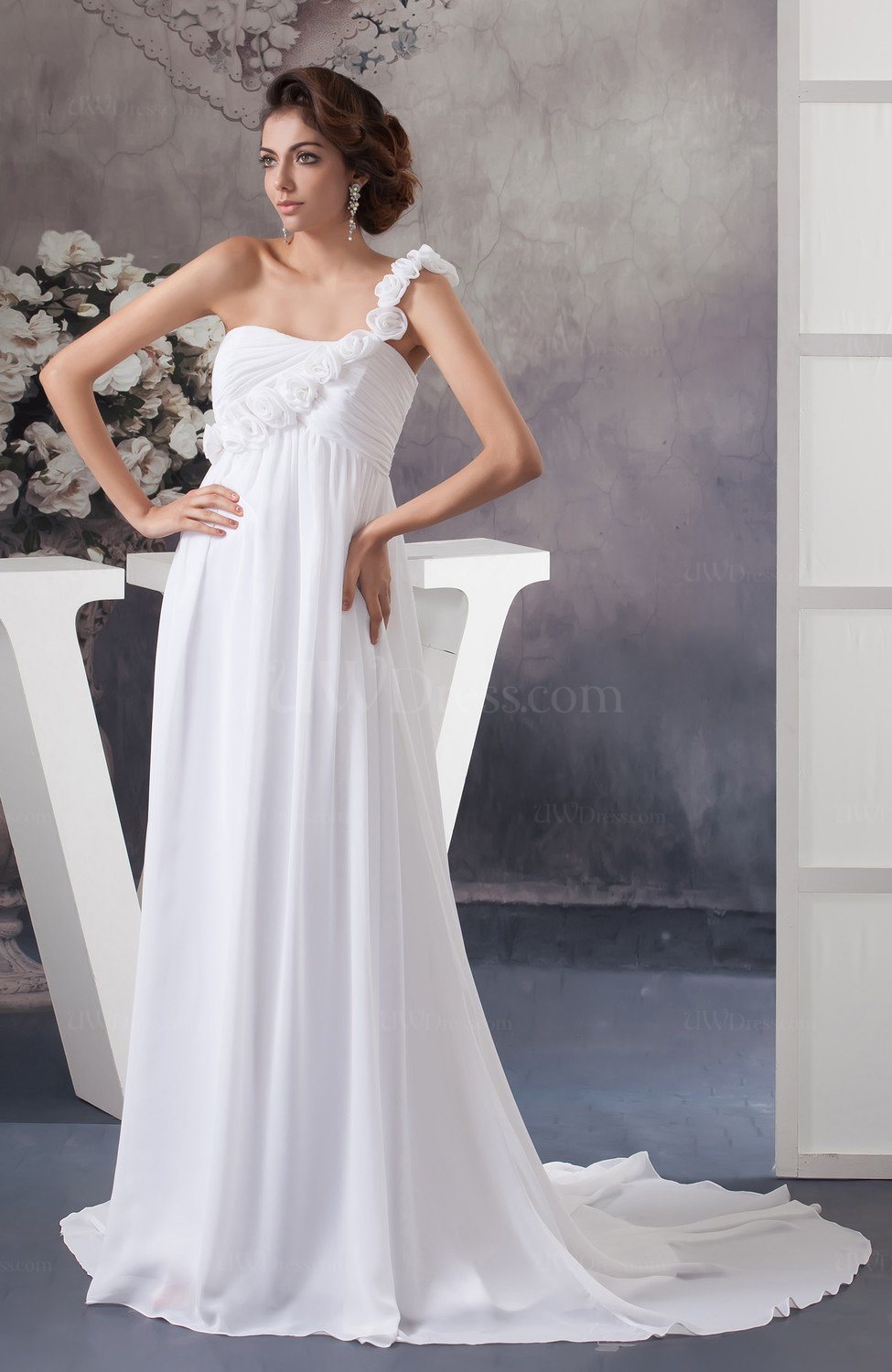 affordable wedding dresses white bridal gowns inexpensive figure 1230
