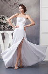 Beach Bridal Gowns Inexpensive Strapless Plus Size Modern Western