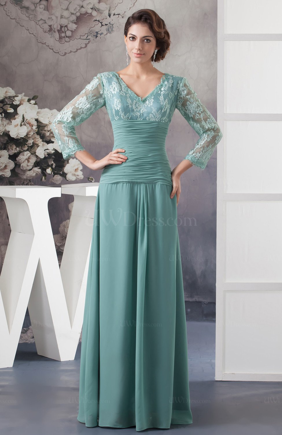 Long Sleeve Party Dress With Sleeves Spring Classy Elegant