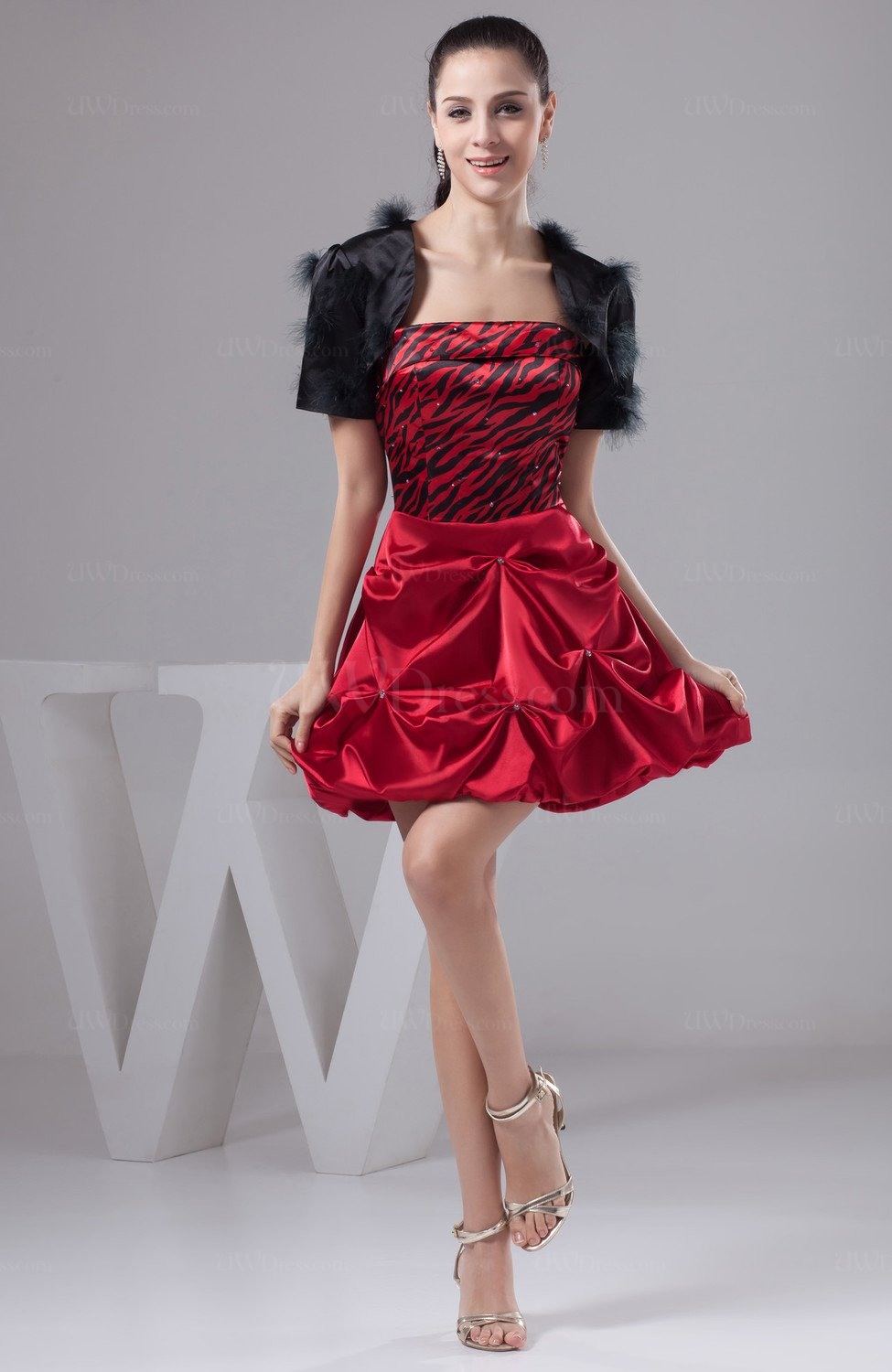 520e9ff9a6 Red Beach Bridesmaid Dress Inexpensive Traditional Luxury Formal Beaded  (Style D27775)