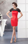 Lace Homecoming Dress Inexpensive Plus Size Trendy Rhinestone for Less Fall