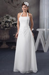 Chiffon Bridesmaid Dress Long Destination Natural Elegant Spring Modern