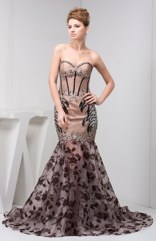 Lace on Chiffon Evening Dress   Style 71413   Morilee