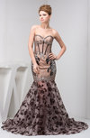 Formal Evening Dress Long Semi Formal Beaded Sweetheart Sparkly Full Figure