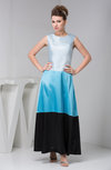Casual Party Dress Long Ankle Length Bohemian Plain Plus Size Spring