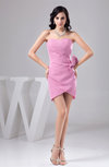 Inexpensive Homecoming Dress Short Sweetheart Open Back Casual Trendy
