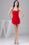 Short Party Dress Affordable Autumn Plus Size Allure Backless Sleeveless
