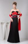 Inexpensive Prom Dress Long Backless Hourglass A line Sleeveless Modern