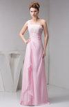 Chiffon Bridesmaid Dress Beach Sleeveless Modern Semi Formal Western