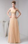 Long Evening Dress Elegant Low Back Full Figure Trendy A line Pretty